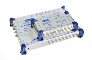 SWK-9216 MultiBAS i rozgałęźnik SAT SSK-918 TELKOM-TELMOR
