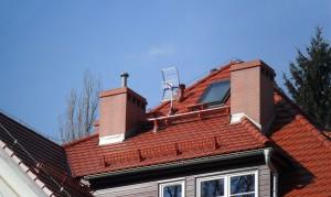 Antena asr na dachu