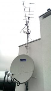 Pole antenowe