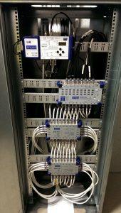 WWK-951, STWK-810 i SSK-918 w pomieszczeniu teletechnicznym