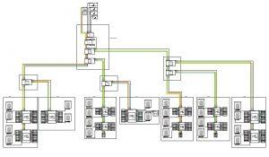 Projekt instalacji RTV/SAT 200 mieszkań